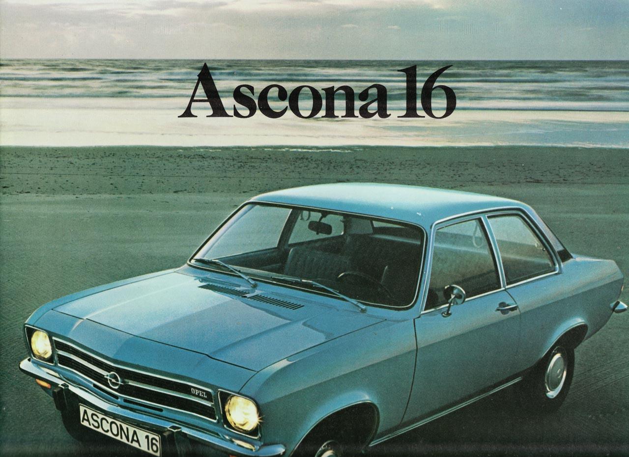 Opel Ascona Brochure